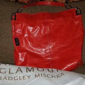 Bagley Mischka leather purse shoulder bag
